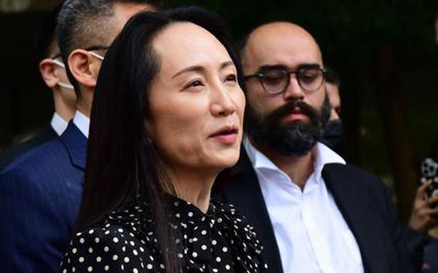 Huawei CFO leaves Canada after agreement with U.S. over fraud charges