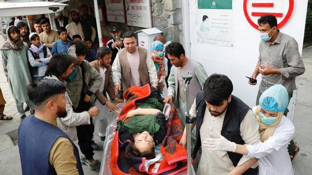 Bomb kills at least 25 people near school in Afghan capital