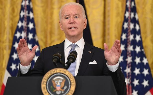 Biden pushes cash reward for people getting vaccinated