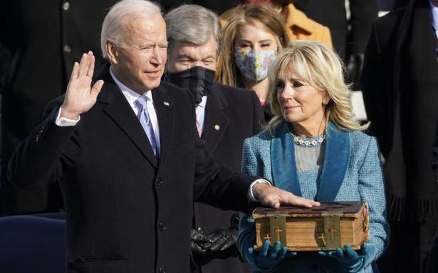 Joe Biden sworn in as 46th President of the United States, deliversmessage ofunity