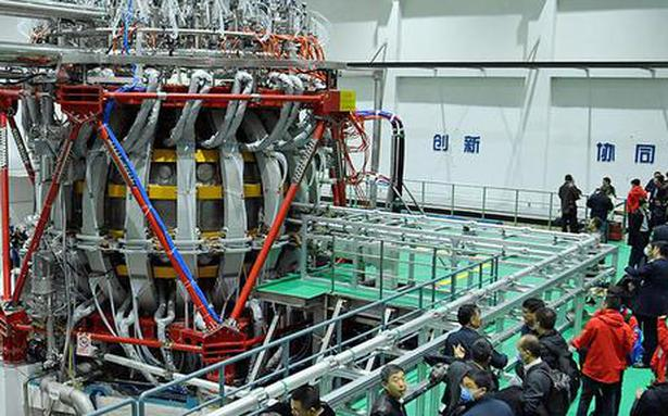 China turns on 'artificial sun'