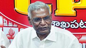 D. Raja takes over as CPI general secretary