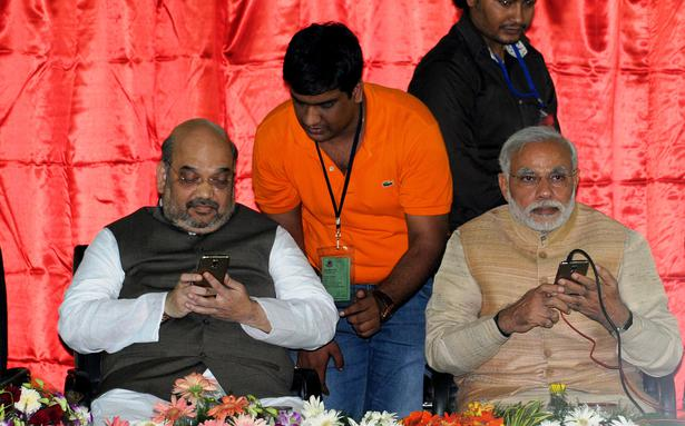 Amit Shah added to 1800 Delhi BJP WhatsApp groups to 'stem fake news'