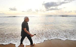 Was carrying acupressure roller while plogging at Mamallapuram beach: PM Modi