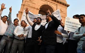 In Delhi, 4 incidents of violence allegedly by lawyers reported