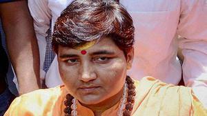 M.P. govt. for reopening case against Pragya