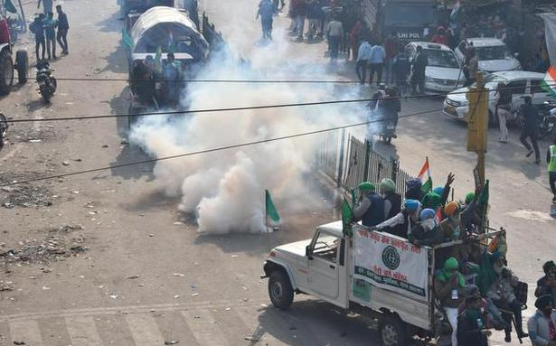 Tractor rally | Opposition leaders condemn violence