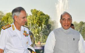 Will take DRDO's new deck-based fighter aircraft when it's ready: Navy Chief