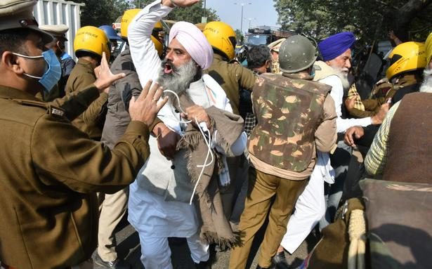 Farmers protest in Delhi live updates | 'Today is Punjab's 26/11': Sukhbir Singh Badal on stopping farmers' Delhi Chalo march