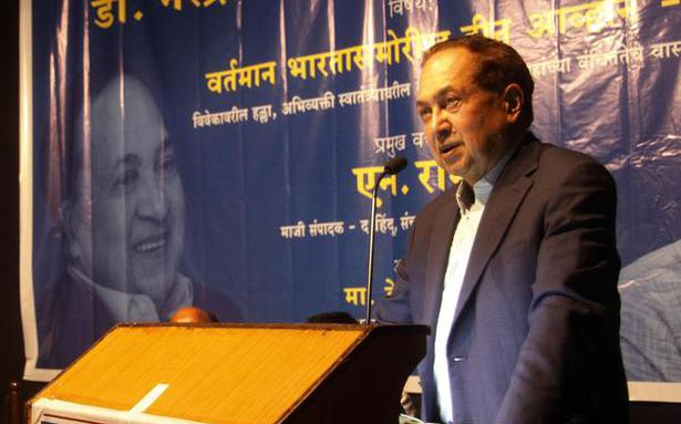 Hindu Rashtra ideology denies equality and justice to all: N. Ram