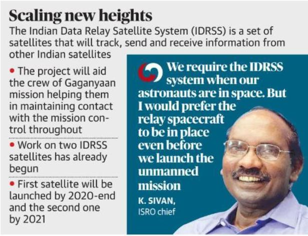 New data relay satellites to keep Gaganyaan crew in touch with Earth