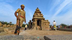 Shore temple to get world class illumination for Modi-Xi summit