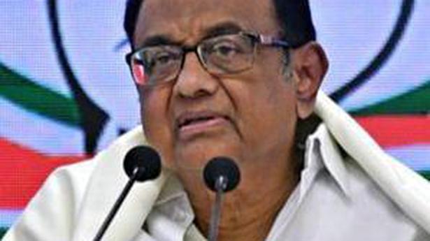 Trade pacts: Jaishankar's views reflect language used in 1970s, says Chidambaram - The Hindu