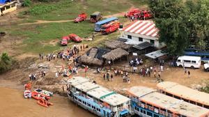 Telangana, AP governments suspend Papikondalu tour after Godavari boat accident