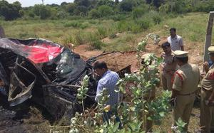 Five die in road accident near Palamaner