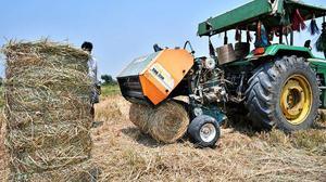 Use of paddy balers picks up