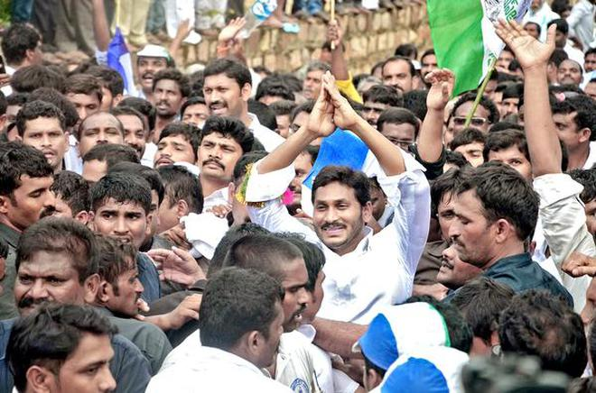 Image result for jagan padayatra in visakha images