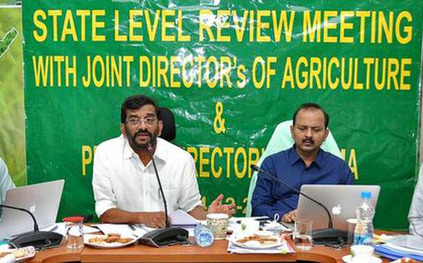 Growth rate in farm sector in State phenomenal, says Somireddy