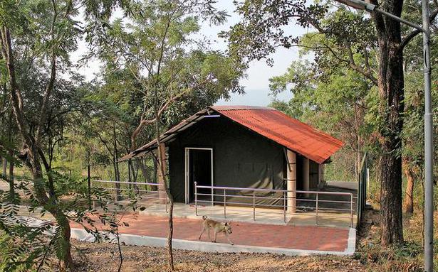 A forest retreat at Mamandur away from city life