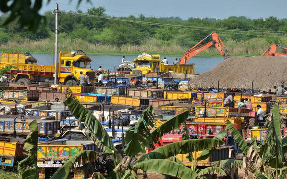 Green tribunal order hits sand availability in Andhra Pradesh ...