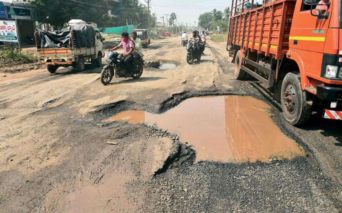 A bump in the road - The Hindu