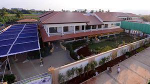 Police step up security at Jagan's Tadepalli residence