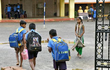 No bag' for children on first, third Saturdays across Andhra Pradesh - The Hindu