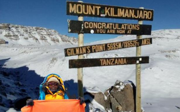 Nine-year-old from Anantapur scales Kilimanjaro