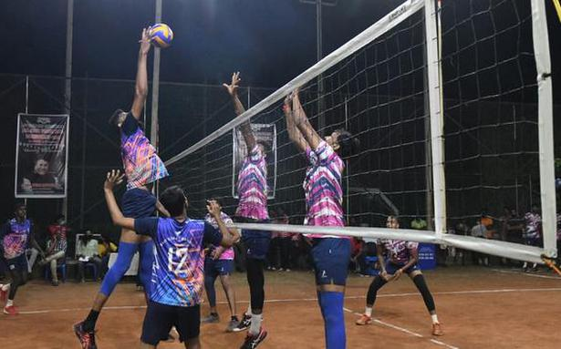 DRM Cup All India VolleyballTournament begins in Vizag