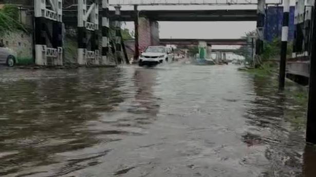 Cyclone Gulab | Heavy rain throws life out of gear in Andhra Pradesh's Krishna district