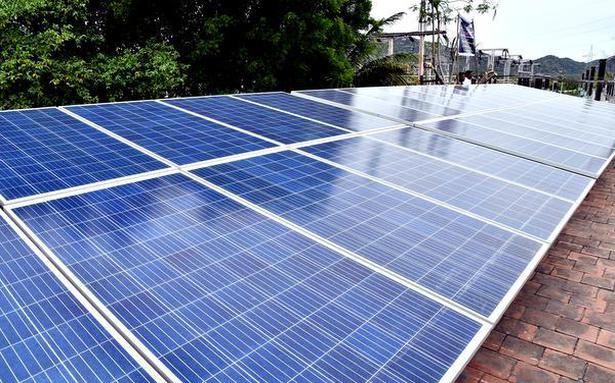 Plans to generate 10,000 MW solar power in State by 2022
