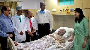102-year-old woman has gallbladder surgery in Vijayawada
