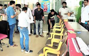 Furniture shifted from showroom of Kodela's son