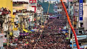 Sirimanotsavam draws huge crowds in Vizianagaram