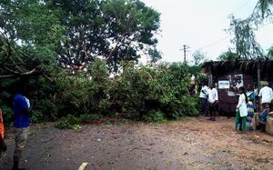 Hailstorm, gales in Anantapur district