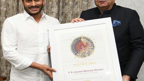 Jagan conferred Skoch CM of the Year award