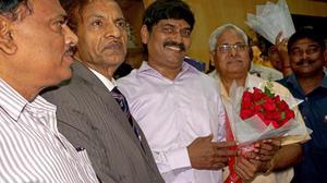 Prasad Reddy takes charge as AU V-C