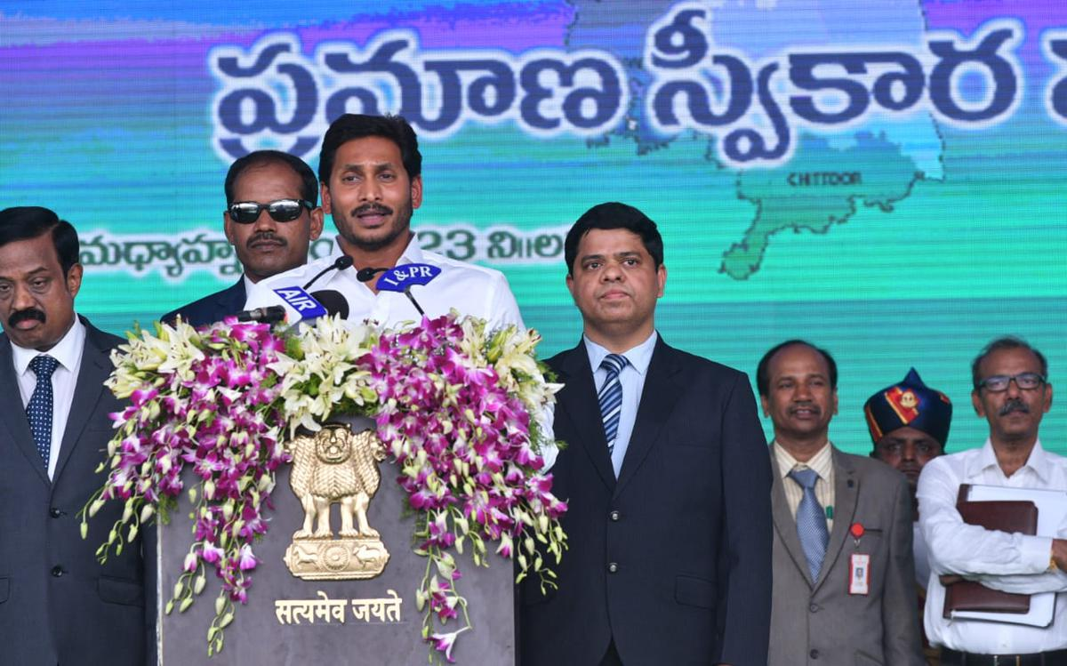 As it happened: Jagan Mohan Reddy swearing-in ceremony | In maiden