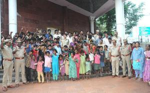 Operation Muskaan helps rescue children in four districts