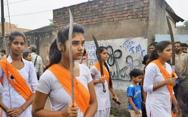 hindu nationalism essay This essay advances understanding of how projects of self-mastery within  neighborhood physical training programs associated with the hindu nationalist.
