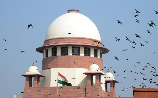 SC refers anti-defection law issue to larger Bench - The Hindu