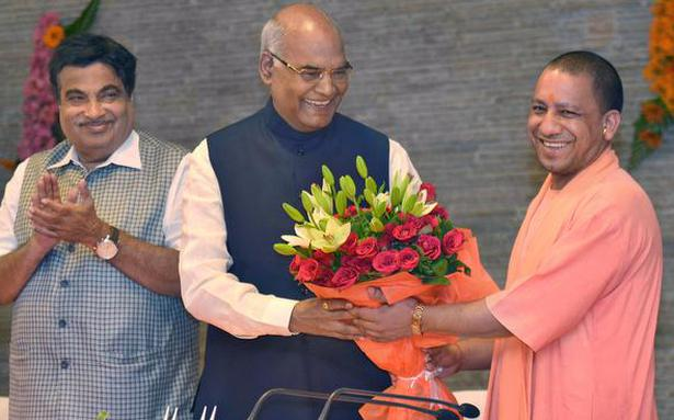 Image result for Ram Nath Kovind goes campaigning; first stop is Lucknow,