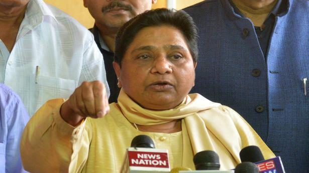 Mayawati quits Rajya Sabha, says she was muzzled