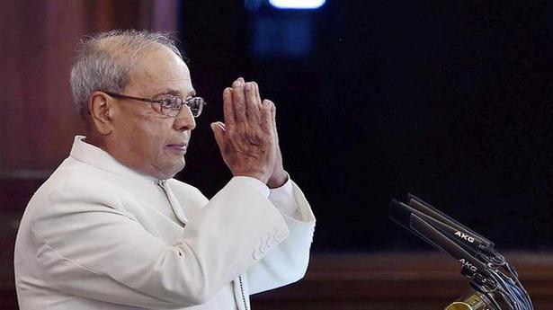Ordinances should be last resort: Pranab