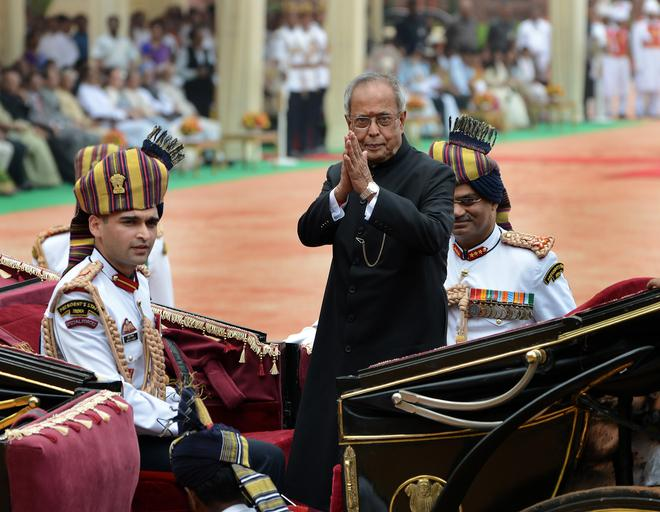 Image result for Nationalism can't be imposed, says Pranab,