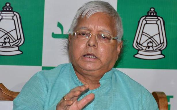 Nitish not only cheated but backstabbed Bihar people, alleges Lalu