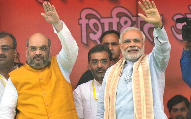 Image result for modi amit shah