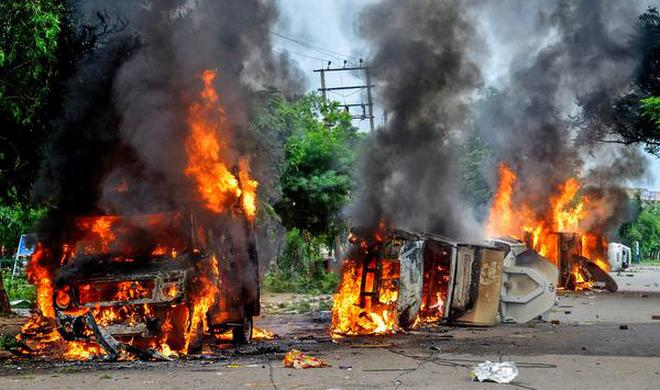 Image result for panchkula riots