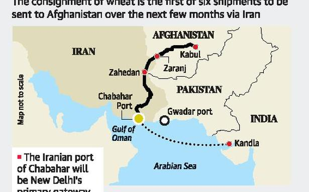 India ships wheat to Afghanistan via Chabahar - The Hindu on fujairah port map, le havre port map, hong kong port map, copenhagen port map, dalian port map, antwerp port map, muscat port map, civitavecchia port map, cape town port map, sohar port map, istanbul port map, halifax port map, buenos aires port map, baku port map, bangkok port map, anzali port map, salalah port map, genoa port map, hamburg port map, algiers port map,