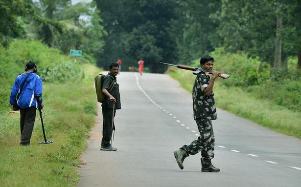 Incidents of Maoist violence reduce in 2017, govt. data show